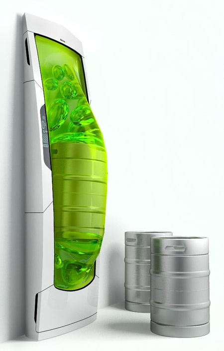Refrigerator bio-robot
