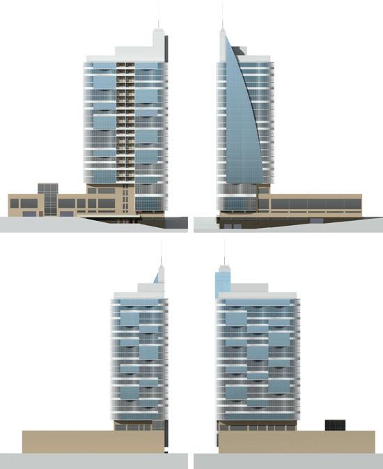 25 этажный дом